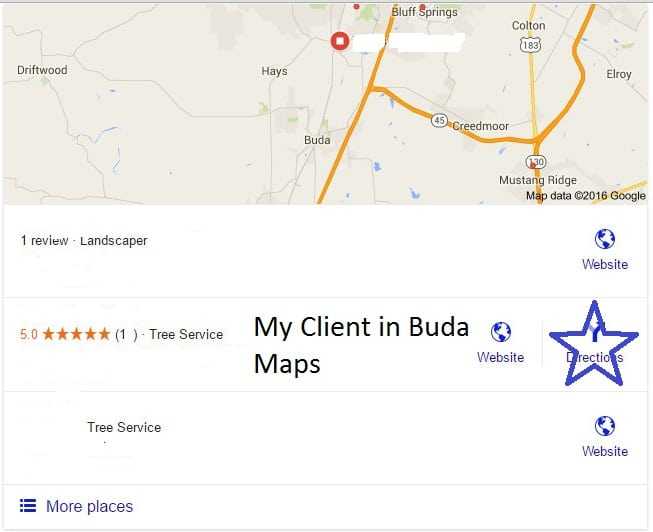 Google Map SEO Firm Results