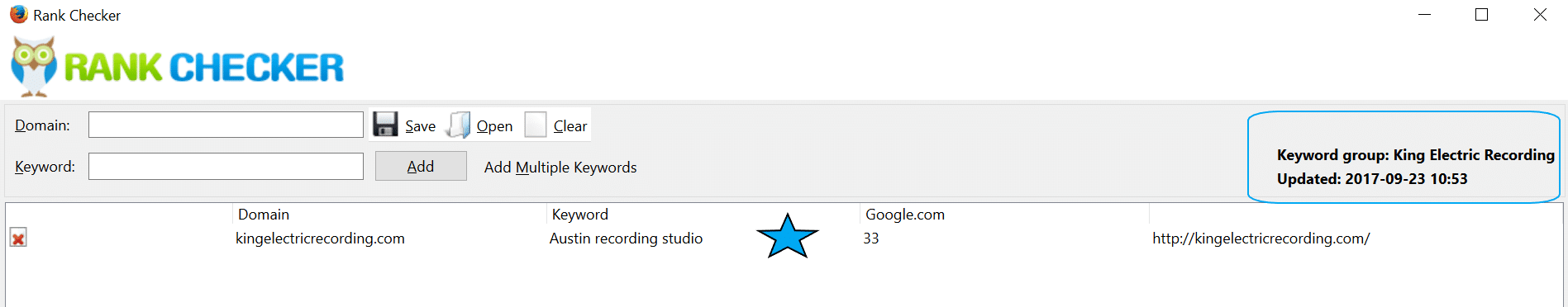 Results from On Page SEO
